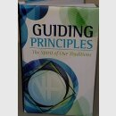GUIDING PRINCIPLES,  (Softcover)